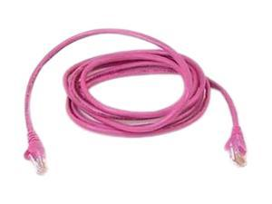 BELKIN A3L980-20-PNK-S 20 ft. Cat 6 Pink Color CAT6 UTP Patch Cable