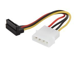 "SYBA SY-CAB40046 5"" Molex 4-pin to SATA HD Power Connector Cable"