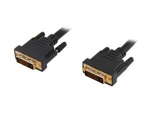 Link Depot DVI-10-DD Black 10 ft. 1 x DVI 24-pin(Others also call 25-pin or 24+1 Pin) Male