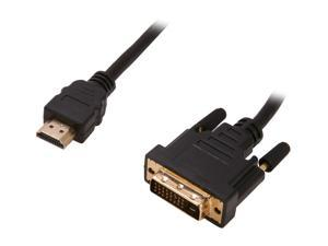 Link Depot HDMI-DVI-5 16 ft. Black HDMI® to DVI HDMI® to DVI Cable