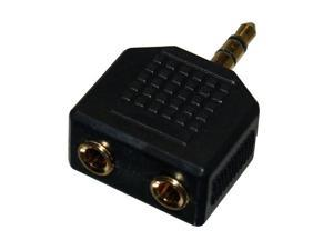 SIIG CB-AU0412-S1 3.5mm (M) to two 3.5mm (F) Stereo Audio Splitter