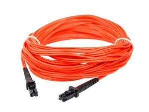 SIIG CB-FE0411-S1 32.8 ft. (10m) Multimode 62.5/125 Duplex Fiber Patch Cable MTRJ/MTRJ