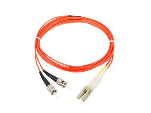 SIIG CB-FE0611-S1 6.56 ft. (2m) Multimode 62.5/125 Duplex Fiber Patch Cable LC/ST
