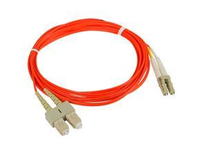 SIIG CB-FE0711-S1 9.84 ft. (3m) Multimode 62.5/125 Duplex Fiber Patch Cable LC/SC