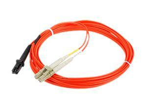 SIIG CB-FE0F11-S1 9.84 ft. (3m) Multimode 50/125 Duplex Fiber Patch Cable LC/MTRJ