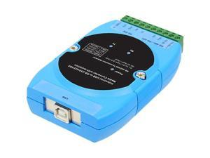 SIIG CyberX Industrial 1-port RS-232/422/485 USB to Serial Isolated Converter - Wide Temperature