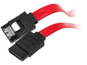 SIIG Model CB-SA0512-S1 1 ft. latching Serial ATA 7-pin to Serial ATA 7-pin Serial ATA Cable
