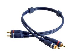 Cables To Go 13032 3 ft. Velocity RCA Audio Interconnect Male to Male