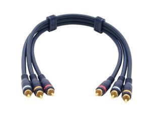 C2G Model 40007 1.5 ft. Velocity RCA Audio/Video Interconnect M-M