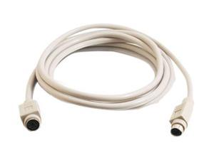 Cables To Go Model 04999 10 ft. PS/2 M/F Keyboard/Mouse Extension Cable Male to Female