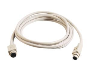 Cables To Go Model 02715 6 ft. PS/2 M/F Keyboard/Mouse Extension Cable Male to Female