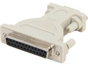 C2G 02449 DB9 Male to DB25 Female Serial Adapter