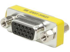C2G 18962 HD15 VGA F/F Mini Gender Changer (Coupler)