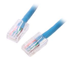 C2G 22691 10 ft. Cat 5E Blue Cat5E 350MHz Assembled M-M Patch Cable - Blue