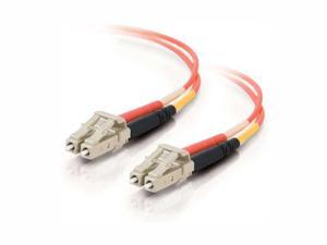 C2G 33036 10m LC/LC Duplex 50/125 Multimode Fiber Patch Cable - Orange