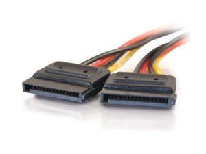 "C2G 10155 6"" Serial ATA Dual Power Splitter Cable M-F"
