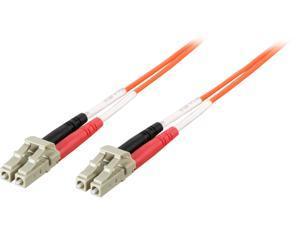C2G 33178 15m LC/LC Duplex 62.5/125 Multimode Fiber Patch Cable - Orange