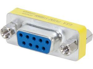 C2G 02781 DB9 F/F Mini Gender Changer (Coupler)