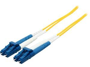 C2G 28758 3m LC/LC Duplex 9/125 Single Mode Fiber Patch Cable - Yellow
