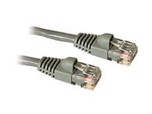 C2G 27136 50ft Cat6 550MHz Snagless Patch Cable - Gray