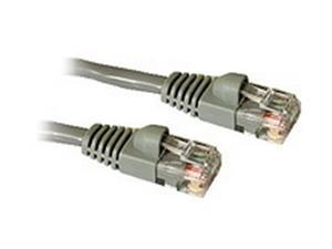 C2G 27133 10ft Cat6 550 MHz Snagless Patch Cable - Gray
