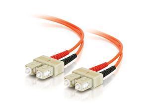 C2G 09116 16.4 ft. SC/SC Duplex 62.5/125 Multimode Fiber Patch Cable