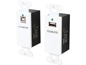 C2G USB Superbooster Wall Plate Kit Model 29342