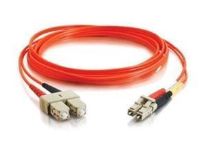 Cables To Go 33157 16 ft. LC/SC Duplex 62.5/125 Multimode Fiber Patch Cable