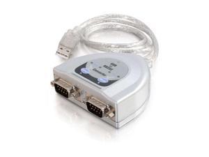 """C2G Model 26478 24"""" USB Serial Adapter"""