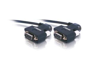 C2G 52085 25ft Serial270 DB9 F/F Null Modem Cable