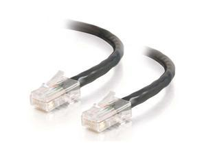 C2G 25040 35 ft. Cat 5E Black 350 MHz Assembled Patch Cable