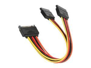 "Athena Power CABLE-YSATA2 8"" SATA II Y cable"