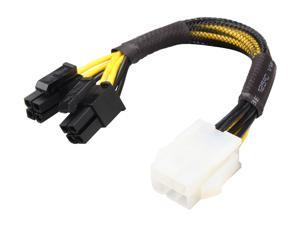 "Athena Power Cable-PCI6EPS428 6"" PCI-E Converter"