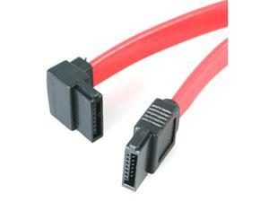 "StarTech SATA18LA1 18"" Left Angle SATA Cable"