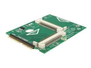 "StarTech CF2X2IDE25 2.5"" IDE to Dual Compact Flash (CF) Adapter"