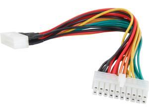 """StarTech ATXPOWEXT 8"""" Power Extension Cable for ATX Motherboards M-F"""
