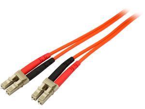 StarTech FIBLCLC2 6.56 ft. Multimode 62.5/125 Duplex Fiber Patch Cable LC - LC