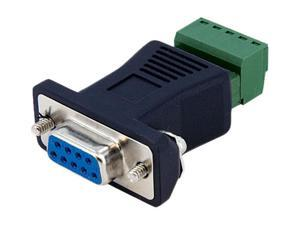 StarTech DB92422 RS422 RS485 Serial DB9 to Terminal Block Adapter
