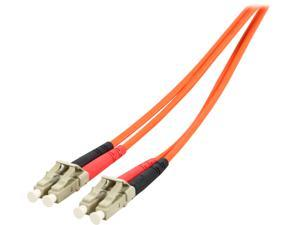 StarTech 50FIBLCLC2 6.56 ft. Multimode 50/125 Duplex Fiber Patch Cable LC - LC