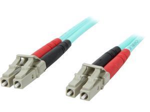 StarTech A50FBLCLC2 6.6 ft. Multimode 50/125 Duplex LSZH Fiber Patch Cable LC - LC
