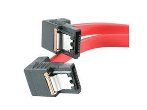 "StarTech Model LSATA12RA2 12"" Right Angle Latching SATA Cable"