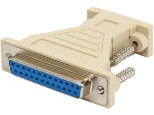 StarTech AT925FF DB9 to DB25 Serial Cable Adapter - F/F