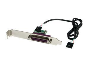 StarTech ICUSB1284INT 24in Internal USB Motherboard Header to Parallel Adapter