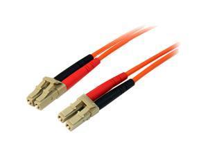 StarTech 50FIBLCLC30 98.4 ft. Multimode 50/125 Duplex Fiber Patch Cable LC - LC