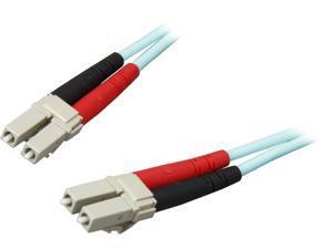 StarTech A50FBLCLC10 32.81 ft, Multimode 50/125 Duplex LSZH Fiber Patch Cable LC - LC
