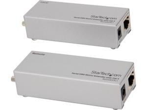 StarTech RS232EXTC1 Serial DB9 RS232 Extender over Cat 5 - Up to 3300 ft