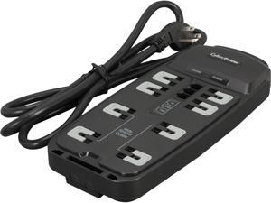CyberPower CSP806T 6 Feet 8 Outlets 2250 Joules Surge Protector