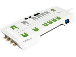 8 Feet 12 Outlets 4350 Joules Home Office Surge Protector (RF-PCS12ES), manufactured and warranted by CyberPower