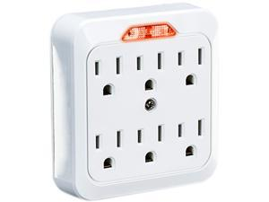CyberPower GT600L 6 Outlets Adapter