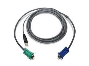 IOGEAR 10 ft. USB KVM Cable G2L5203U